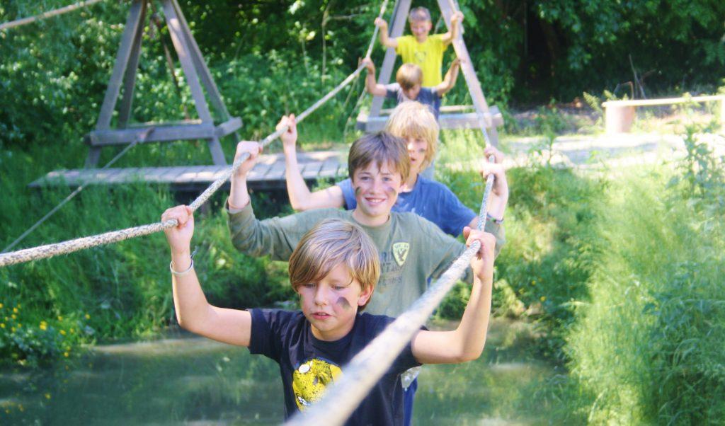 Kinderfeestje modder 15-5
