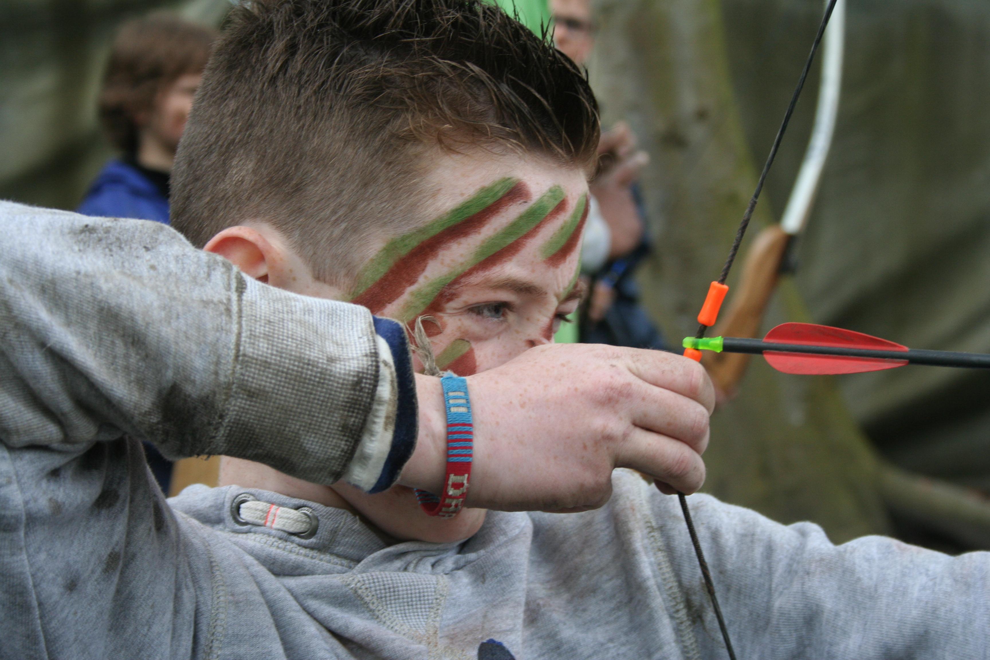 Actief kinderfeestje meisje Almere Outdoor
