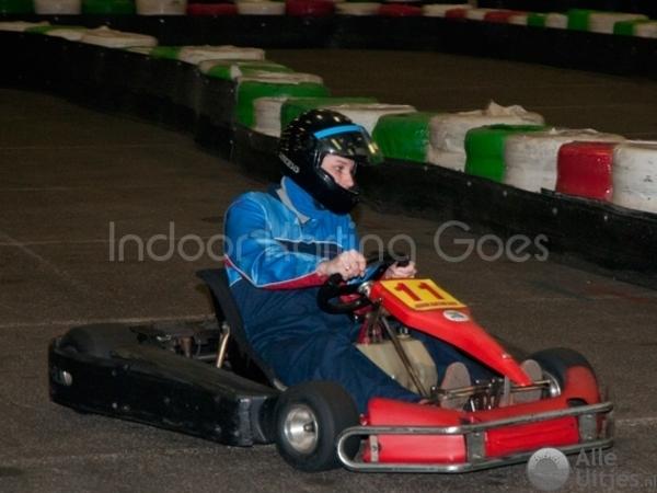 Indoor Karting Goes