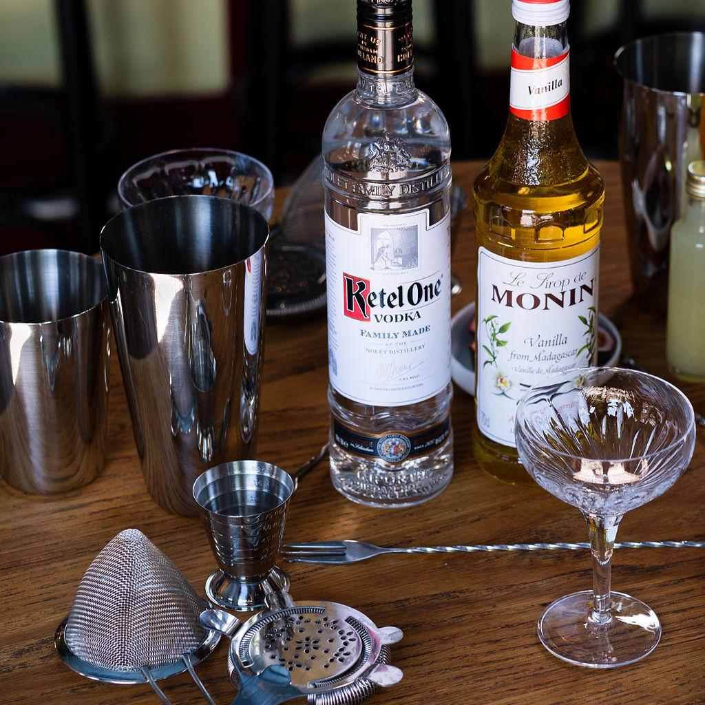 Cocktail Workshop setting benodigdheden